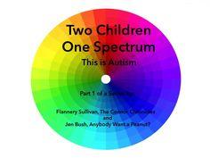 Two Children One #Spectrum #autism