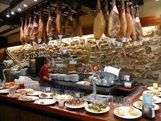 Typical Basque bar