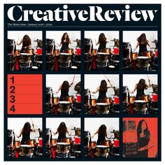 January's copy of Creative Review is now on the magazine rack at Bletchley Study Centre - you can loan it out for up to one week!