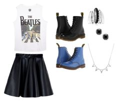 """The Beatles"" by brooklynb39 ❤ liked on Polyvore featuring MSGM, Wet Seal, Dr. Martens and Avenue"