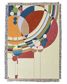 Frank Lloyd Wright March Balloons Tapestry Throw Uniart Http Www