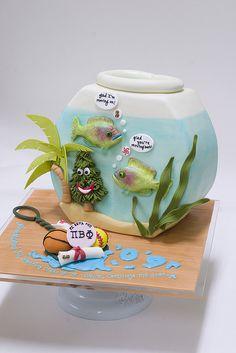 Aquarium Cake by studiocake, via Flickr