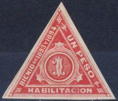 Colombia Revenue Stamp, 1893-94.