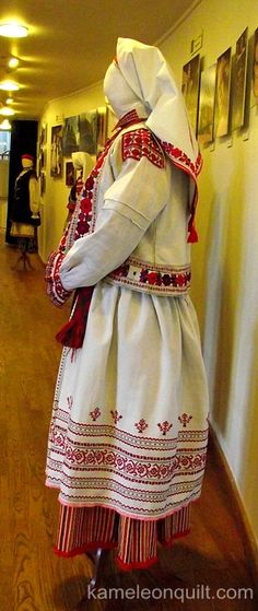 Ukrainian Folk Costumes from The Lviv National Museum Of Ukrainian Art