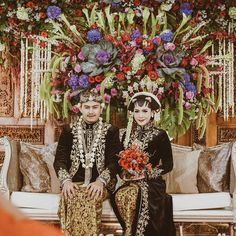 "40 Likes, 1 Comments - Event & Wedding Decor Jakarta (@sentrabunga) on Instagram: ""Putri @putrimaharani29 & Rangga @ranggaph. The beautiful javanese bride & groom. May you two live…"""