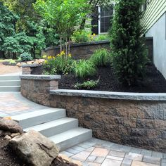 You saved to Cambridge Steps & Walkways Walk out of your house and feel like a million bucks! This grand walkway features Cambridge Pavingstones with ArmorTec. Installation: Exclusive Stoneworks