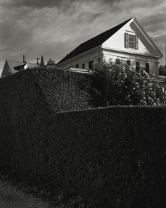 Michael Schley. Commercial St. Provincetown MA. Cape Cod. Gelatin Silver Print.