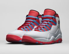 Official Images Of The Air Jordan 10 Chicago Flag