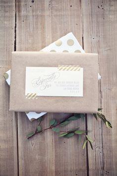 Ideas DIY para envolver y decorar regalos con washi tape