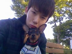 CUTE ALERT: Jo Kwon Dresses Pup in Hanbok!