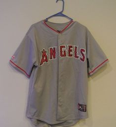 0e320706b84 Los Angeles Angels Men s L Button-Up Baseball Jersey MLB    5.00 (0 Bids)  End Date  Sunday Nov-25-2018 16 23 44 PST Bid now