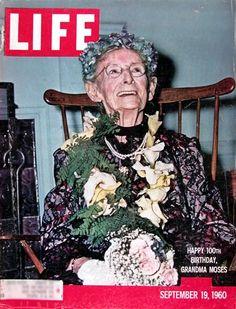 Grandma Moses LIFE cover