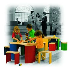 LEGO 3-seater Play table with 3 chairs | LEGO | Pinterest | Lego and ...
