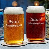 Create lasting Wedding memories with the Groomsmen 20oz. Personalized Beer Pilsner Glass. Find the best personalized wedding gifts at PersonalizationMall.com
