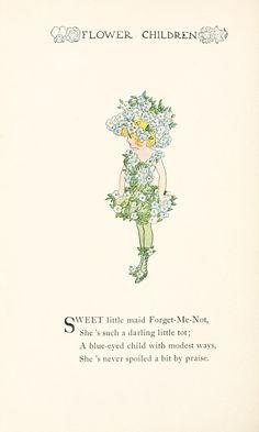 Flower children; the little cousins of the fiel...
