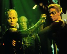 66) Dark Frontier (Star Trek: Voyager) - Seven of Nine starts to remember her past before she became a Borg drone, as Janeway schemes to steal from the Borg.