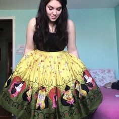 The Queen of Hearts Jenny skirt may be my favorite PUG item I own. Until I buy something else that is.. @pinupgirlclothing