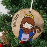 Giuseppe Christmas Ornaments, Holiday Decor, Home Decor, Decoration Home, Room Decor, Christmas Jewelry, Christmas Baubles, Christmas Decorations, Interior Decorating