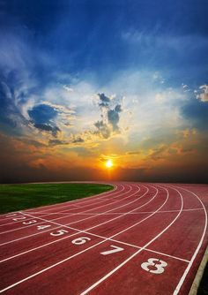 Track field backdrop sports track background