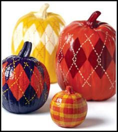 MagicMarkingsArt an artful blog about color and whimsy: Cool Stuff for Saturday - Decorated Pumpkins