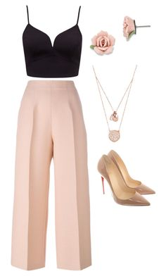 """Untitled #18"" by styledbymcbryt on Polyvore featuring Fendi, 1928, Michael Kors and Christian Louboutin"