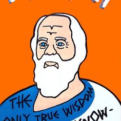 Socrates Pop Folk Art