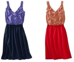 Pretty dresses.  and from Target!