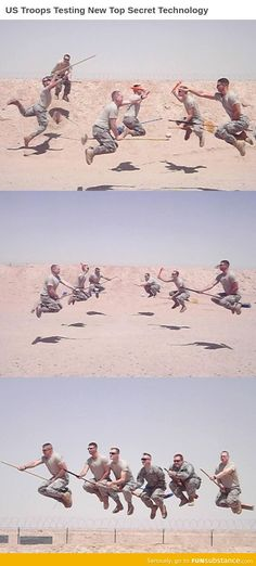 The United States Army Quidditch Team
