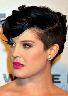 Kelly Osborn Pixie Cut Shaved Sides