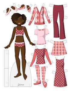 fashion paper dolls template google search paper dolls pinterest