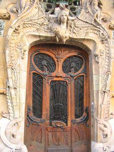 French Art Nouveau Architecture Art deco