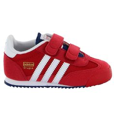 Red tennis shoes!! TennisAdidasDragonsToddlersTrainersInfantsToddler BoysSneakerTrain  ...
