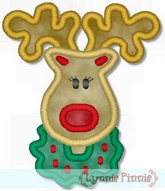 Lynnie Pinnie - Reindeer Applique