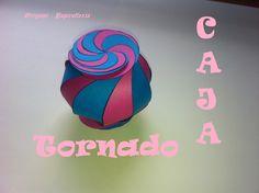 Origami - Papiroflexia. Caja Tornado, twister box.