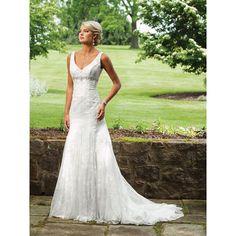 mermaid fall wedding dress..this site has affordable dresses!!