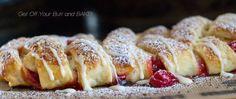Puff Pastry Cherry Braid
