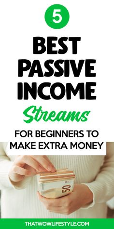 Searching for the best passive income streams and ideas for beginners to make money online? Or even not online but extra cash from home? Check out this article where I share 5 of the best and easy…More What Is Passive Income, Passive Income Streams, Creating Passive Income, Creating Wealth, Earn Money From Home, Make Money Fast, Make Money Online, Free Money, Blockchain