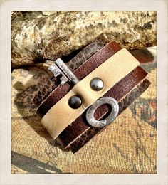 Amaze-balls!!! This leather cuff bracelet with a vintage skeleton key is my accessory staple!!!!