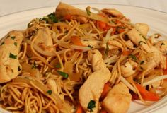 Delicious SW Chicken Chow Mein
