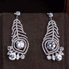 Zircon Earring JHZ-409 USD52.24, Click photo for shopping guide and discount
