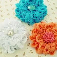 fabric flower pattern free - Google Search