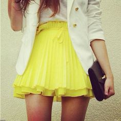 Yellow!! Must have color for Spring 2012