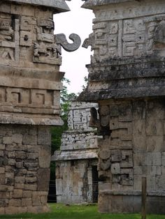 Chichen Itza, Mexico.  Looks like there are so many awesome things to see there.