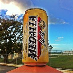 Medalla - Puertorrican beer