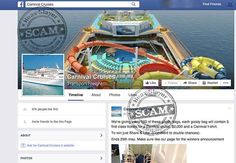 Message being distributed on Facebook claims that, just by sharing and liking, you can win a 'goody bag' containing 5 first class tickets for a Carnival cruise along with $2000 and a Carnival t-shirt.