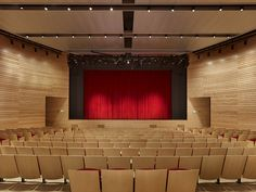 Northeastern University | Blackman Auditorium | William Rawn Associates Little Husky, Wall Panel Design, Alma Mater, Acoustic, Theater, University, School, Ideas, Home Decor