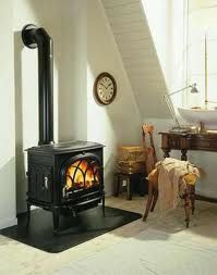 wood burning stove - warm up almost any room!