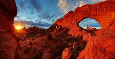 Arches Shining in the SunCredit: Jim Karczewski, National Park Service