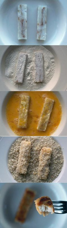 Perfect homemade fish fingers! Recipe includes a key tip for keeping the fish succulent and moist within a crackling crisp coating.