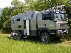 Survival camping tips Overland Truck, Expedition Vehicle, Off Road Camper, Truck Camper, Motorhome, Benne, Offroader, Adventure Campers, Bug Out Vehicle